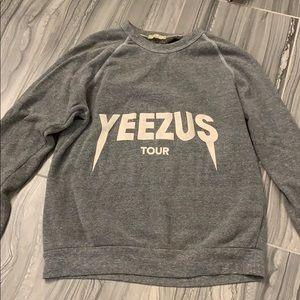 YEEZUS tour sweatshirt